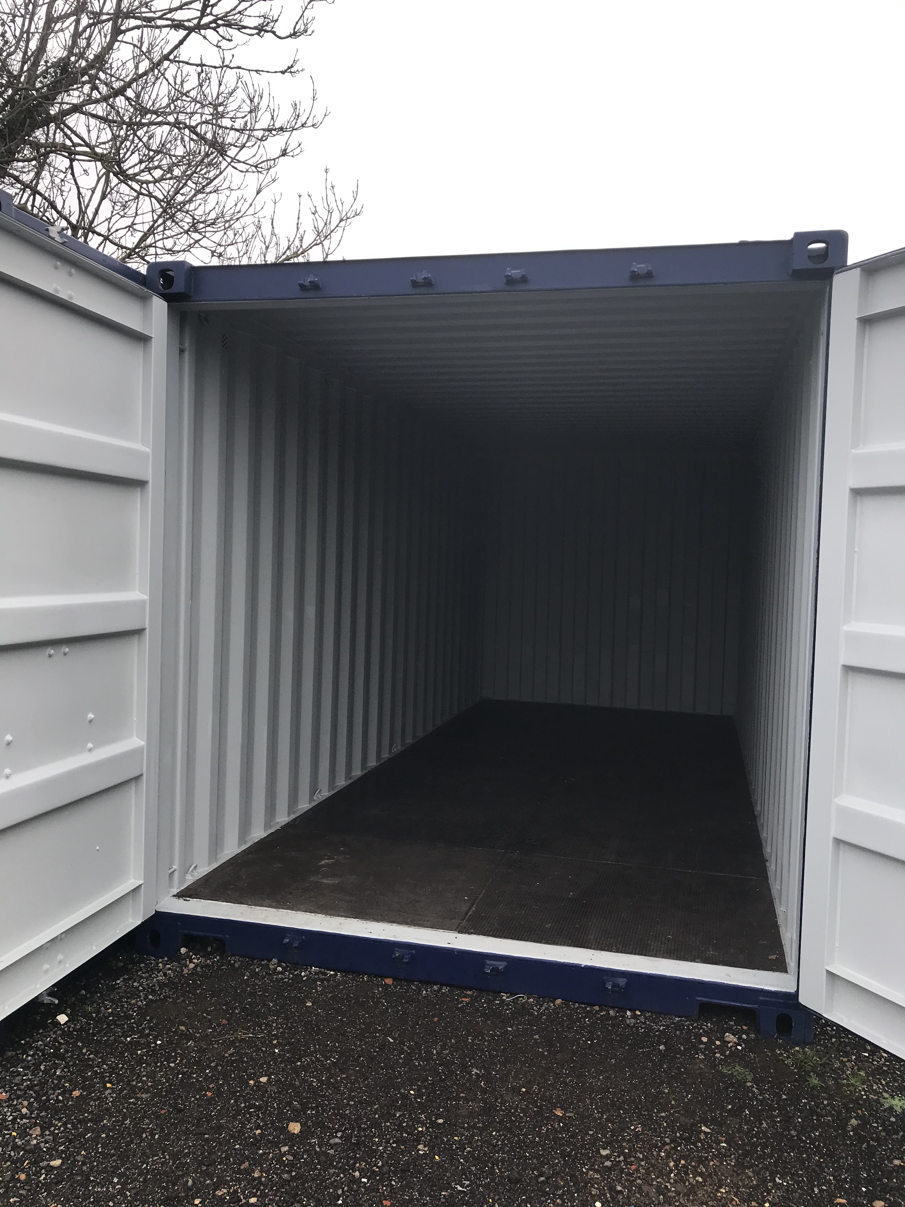 20ft Storage Container open